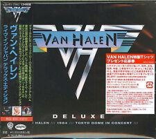 VAN HALEN-TOKYO DOME IN CONCERT-JAPAN 4 CD Ltd/Ed M13
