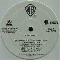 """WARNER BROS. 1995 12"""" VINYL PROMO SAMPLER MADONNA, SEAL PRO-A-7668 ~HTF~ SEALED!"""