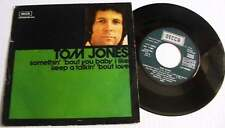 TOM JONES SOMETHING BOUT YOU BABY I LIKE*KEEP TALKIN BOUT LOVE SPANISH PIC COVER