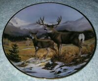 """Guardian of The Glen"" by JL Whiting Fine Porcelain Collect Plate Frank"