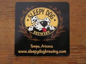 Sleepy Dog Brewery Sticker ~Craft Beer Brewing Co. Pub Decal~