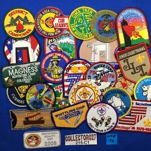 Boy Scout 25 Scout Patches Mixed Lot # 70
