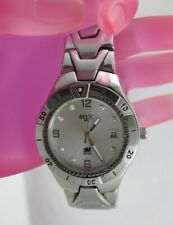 G92:New $75 Relic Wet  by Fossil Watch for Men from USA-Silver Tone