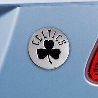 Boston Celtics Heavy Duty Metal 3-D Chrome Auto Emblem