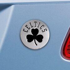 Boston Celtics 3D Chrome Plated Metal Auto Emblem