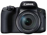 Canon Digital Camera PowerShot SX70 HS 4K PSSX70HS EMS w/ Tracking NEW