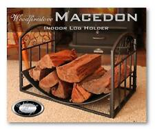 MACEDON Indoor Log Rack / Storage WOOD HOLDER and Fireplace *Free Shipping