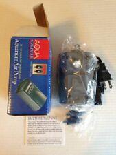 NEW Aqua Culture Aquarium Air Pump MK-1504 20-60 Gal/Dble Outlet + 2 check valve