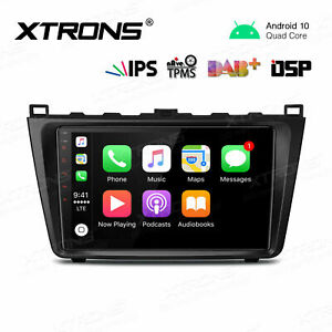 """9"""" Android 10 DSP Car Stereo 4G WIFI Auto Radio GPS 2+16GB for Mazda 6 2008-2012"""