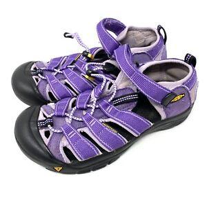 Keen Newport H2 Purple Sport Sandals Big Kids Youth Size 5