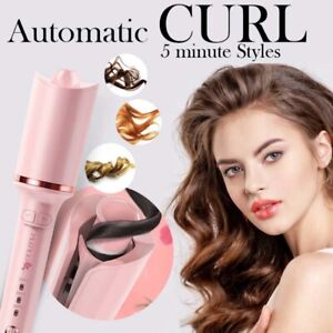 Automatic Curling Iron Rotating Professional Curler Styling Magic hair Comb Tool