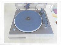 Vintage 80th ITT-Schaub Lorenz 9510 Plattenspieler Belt-Drive