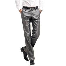 Summer Men Business & Dress Slim Pants Wedding Formal Casual suit pants trousers