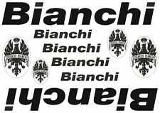 Bianchi Bicycle Vinyl Decal Stickers Frame Replacement Adhesive Set Aufkleber #2