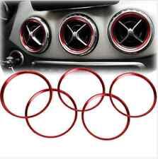 5pcs Air Outlet Decorative Ring For Mercedes Benz A Class A180 A200 A250 W176