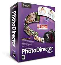 Cyberlink Photo Director Deluxe: Photo Editing WIN 8 MAC - Brand New - Software