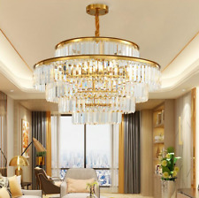 Crystal Modern Contemporary Chandeliers Pendant Ceiling Chandelier Lighting