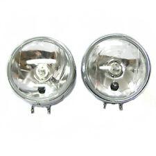 2x Front Fog Spot Lights White Lamps E-Marked For VW Volkswagen Golf Passat Polo