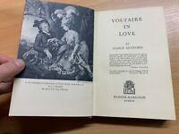 "1957 NANCY MITFORD ""VOLTAIRE IN LOVE"" ILLUSTRATED BIOGRAPHY HARDBACK BOOK"