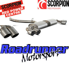Scorpion sau026-ti Audi Tts Mk2 De Escape Titanio Gato posterior no res Stw Tails