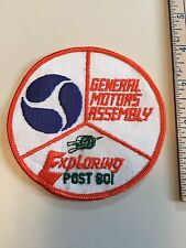 General Motors Assembly Exploring Post 801 Patch