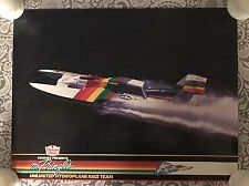 Vintage Mr Pringle's Unlimited Hydroplane Boat Racing Poster - NOS!!! - COOL!!!
