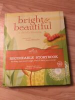 Hallmark Bright & Beautiful Recordable Storybook A Childs Blessing