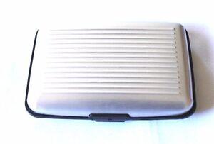 RFID Wallet -Credit Card- Holder-Aluminum Metal-Stylish- for Men & Women - RF ID
