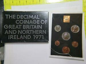 THE COINAGE OF GREAT BRITAIN NORTHERN IRELAND 1971 WORLD COIN PROOF SET 🌈⭐🌈