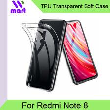 TPU Transparent Soft Case Xiaomi Redmi Note 8 / Protective Case wmart