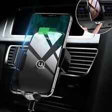 Wireless Car Phone Charger Holder,10W Qi Air Vent Mount XS Max XR X 8 Plus,Samsu
