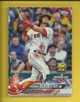 Andrew Benintendi  2018 Topps Opening Day All Star RC Card # 150 Boston Red Sox