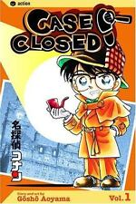Case Closed, Vol. 1, Gosho Aoyama, Good Condition, Book