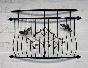 Powder coated Juliet Balcony, Balustrades, Railings, Personalised. Bee.Number 20