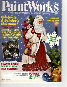 Paint Works December 1994 Magazine-Pipka Santa/Church/McFarlane Santa/Star Catch