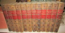 HOUSEHOLD WORDS: A Weekly Journal-Hardcover in 12 Volumes 1st Edition LONDON