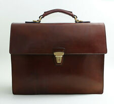 The Bridge Story Uomo Aktentasche Leder Tasche Neu NP 685,- Business Briefcase