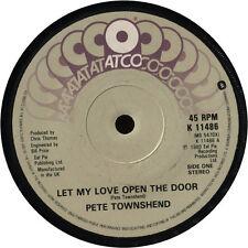 """Pete Townshend – Let My Love Open The Door, 7"""" vinyl  disc."""