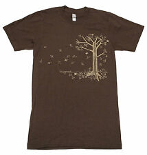 Kina Grannis StairWells Fall Tour 2010 SMALL Brown American Apparel T Shirt
