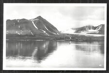 Spitsbergen rppc 93 Königsbucht Kings Bay Norway Norge 20s