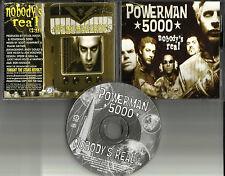 POWERMAN 5000 Nobody's Real 1999 USA PROMO DJ CD Single DRM5P 5238 MINT