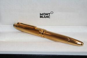 Montblanc Meisterstück Le Grand N° 146 Füller 925er Silber VERMEIL Feinkorn