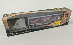 NASCAR Winners Circle Trailer Rig Transporter : Silver #24 Jeff Gordon 20 Years