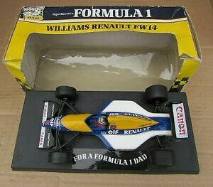 Nigel Mansell's Williams Renault FW14 Car by Onyx F1 Models- Hallmark F1 for Dad