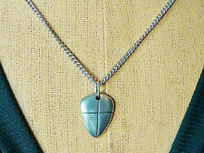 """Pendent Sheild and Cross Christian Inspirational with 18"""" chain Joshua 1:9b"""