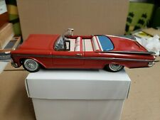 "Vintage tin toy friction Japan Buick 9"" convertible working condition clean."