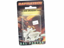 Battletech RAL Partha la Dragon Fire 20-909 FASA MECH WARRIOR NUOVO SIGILLATO