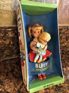 Vintage Buffy & Mrs Beasley Tutti Barbie Doll Mattel  Family Affair #3577 W/box
