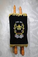 Large Hebrew Sefer Torah Scroll Book Jewish Israel Holy Bible