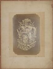 LOUIS THEOPHILE HINGRE LE GIBIER A POIL FOTOGRAFIA SCULTURA G. GRAVET ALBUMINA